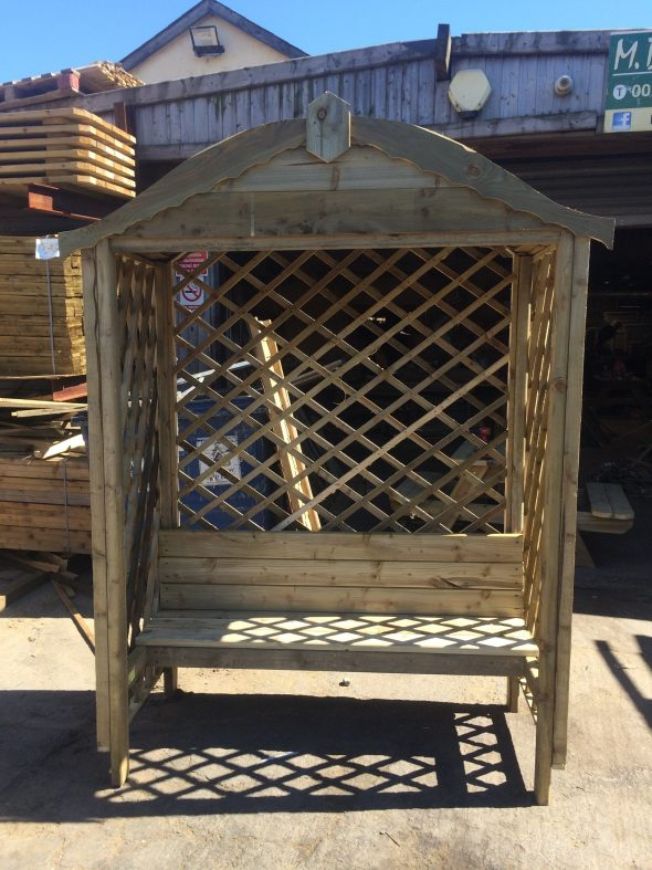 Arched Arbour seat