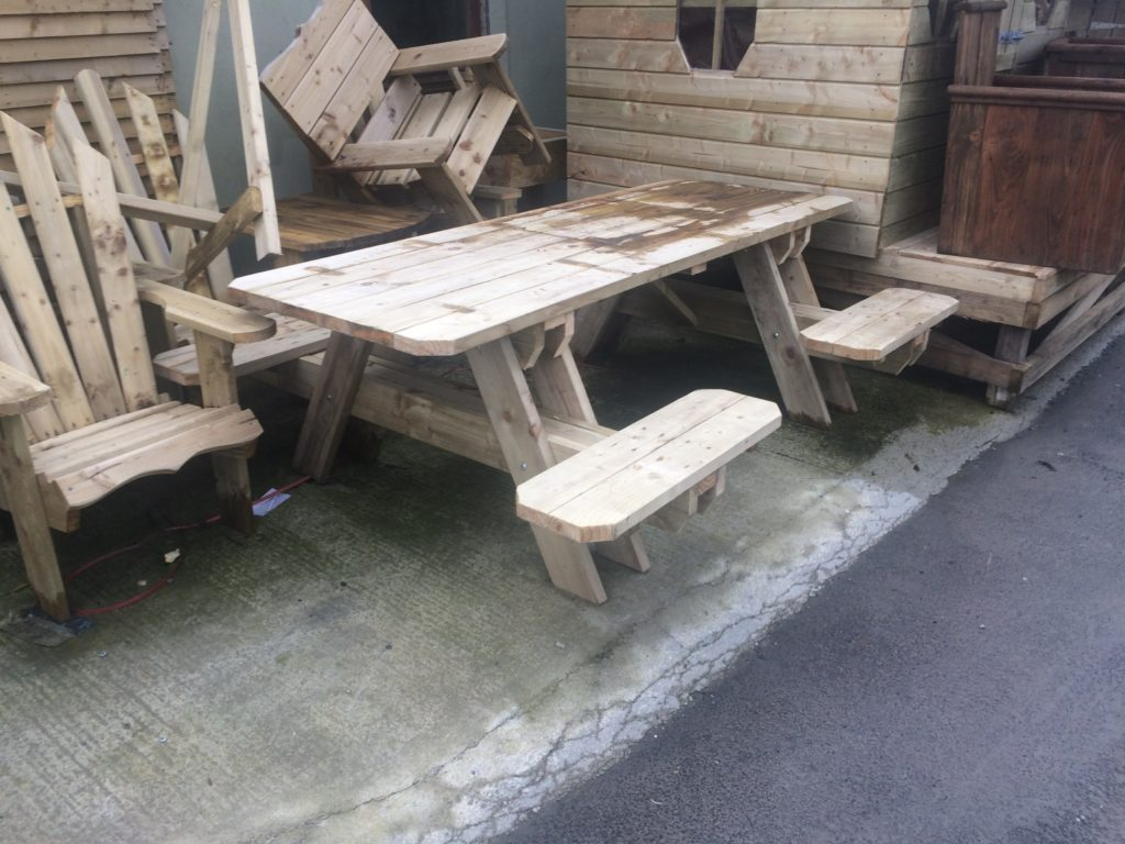 Picnic Table Split Bench Seats M Doherty Timber Products